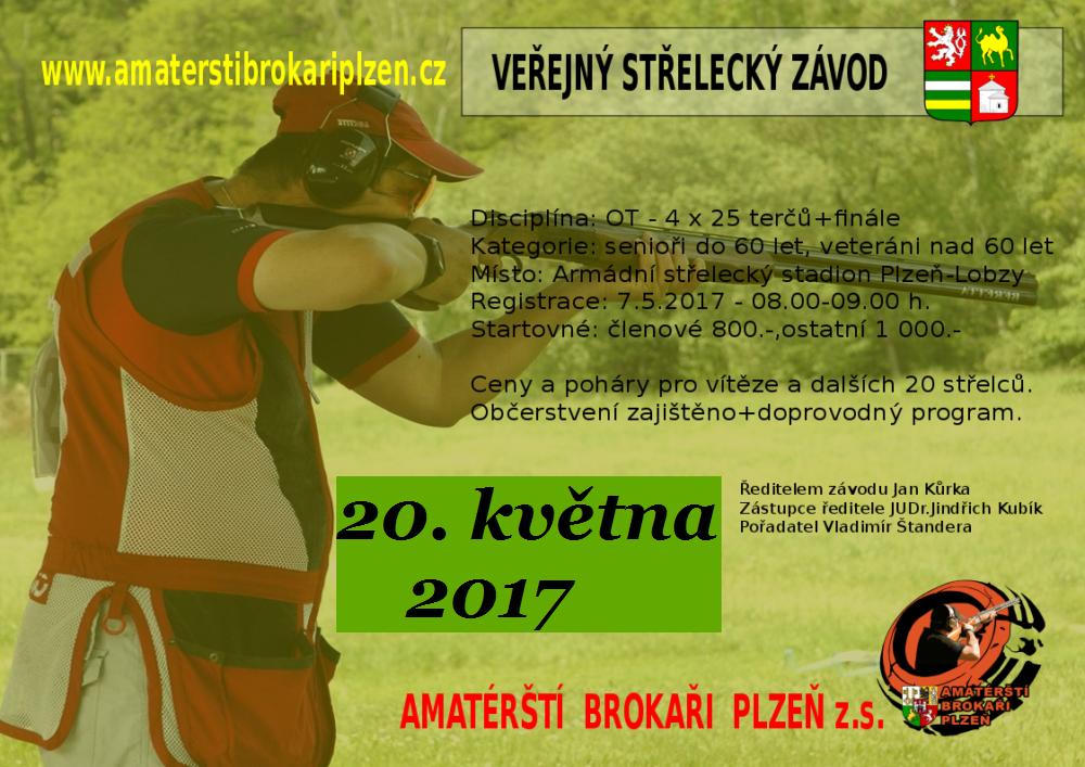 Střelecké závody Amatérští brokaři Plzeň